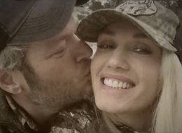 Blake Shelton Plants Kisses On Gwen Stefani In Cute New Video