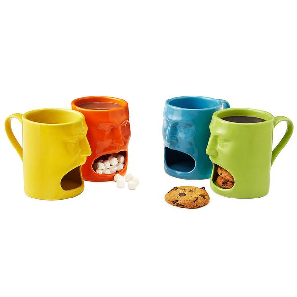 """<a href=""""http://www.uncommongoods.com/product/warm-or-cool-face-mugs-set-of-2?country=US&gclid=CJi06KDs78kCFcOQHwodtUMD7w"""