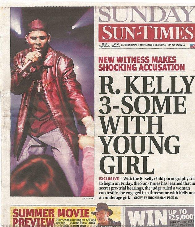 R kelly sex video underage girl