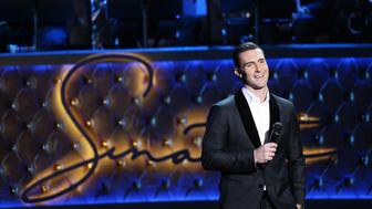 LAS VEGAS, NV - DECEMBER 02:  Adam Levine performs onstage during 'Sinatra 100: An All-Star GRAMMY Concert' celebrating the late Frank Sinatra's 100th birthday held at the Encore Theater at Wynn Las Vegas on December 2, 2015 in Las Vegas, Nevada. The show will air on CBS on December 6.  (Photo by Michael Tran/FilmMagic)