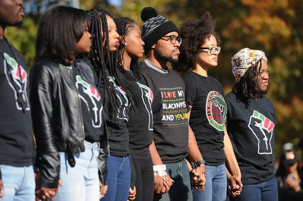 In November, black student activists at the University of Missouri rallied together to protest the racial issues that they cl