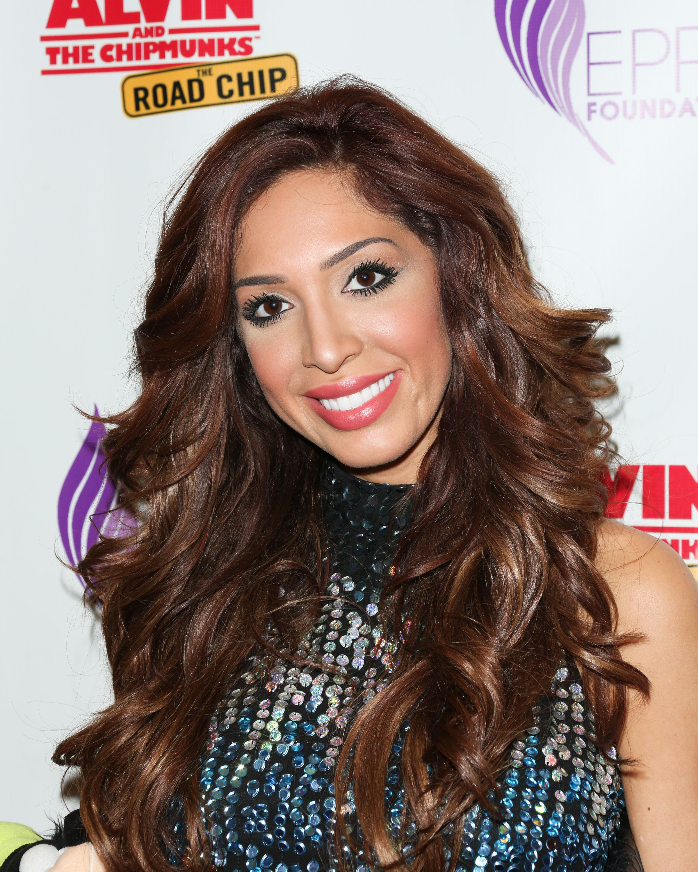CENTURY CITY, CA - DECEMBER 13:  Reality TV Personality Farrah Abraham attends the celebrity family Sunday funday toy drive and screening of 'Alvin And The Chipmunks: The Road Chip' at AMC Century City 15 theater on December 13, 2015 in Century City, California.  (Photo by Paul Archuleta/Getty Images)