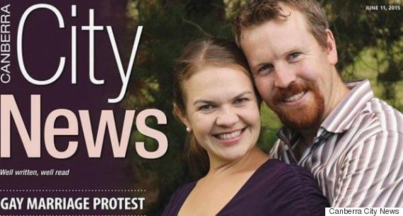 """In&nbsp;June, Australian&nbsp;Nick Jensen wrote <a href=""""http://citynews.com.au/2015/gay-law-change-may-force-us-to-divorce/"""""""