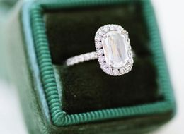 16 Stunning Engagement Rings With A Whole Lot Of Sparkle