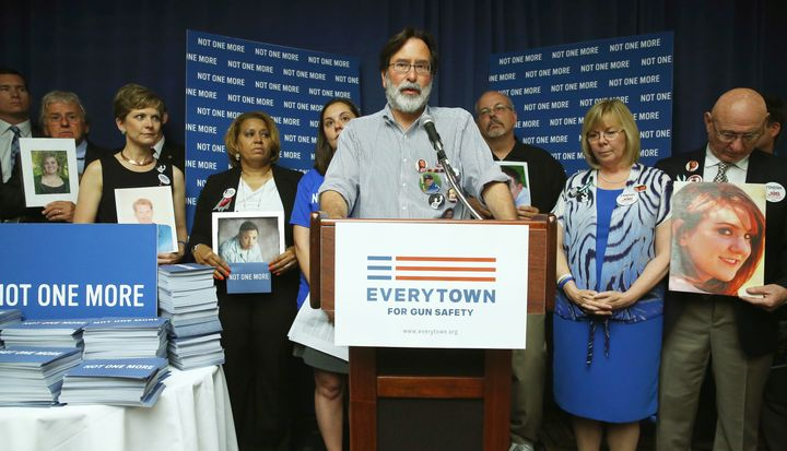 Richard Martinez began advocating for gun control measures after his son was killed in a mass shootingin May 2014.