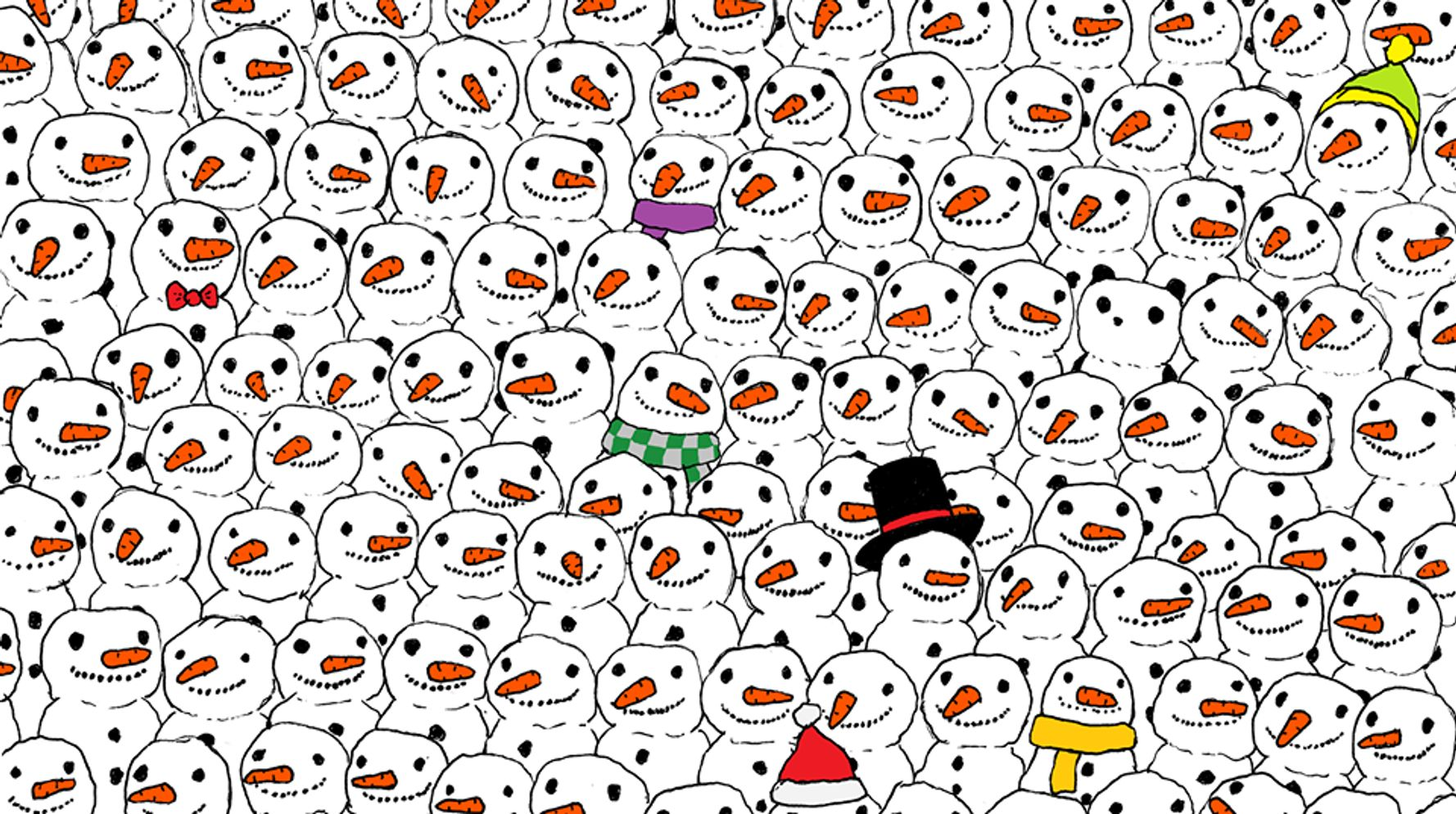 The Internet Is Struggling To Find The Hidden Panda In This Viral Drawing