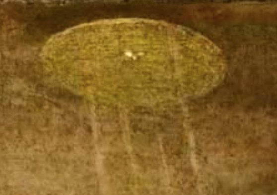 Look! Is That A UFO Over Jesus'