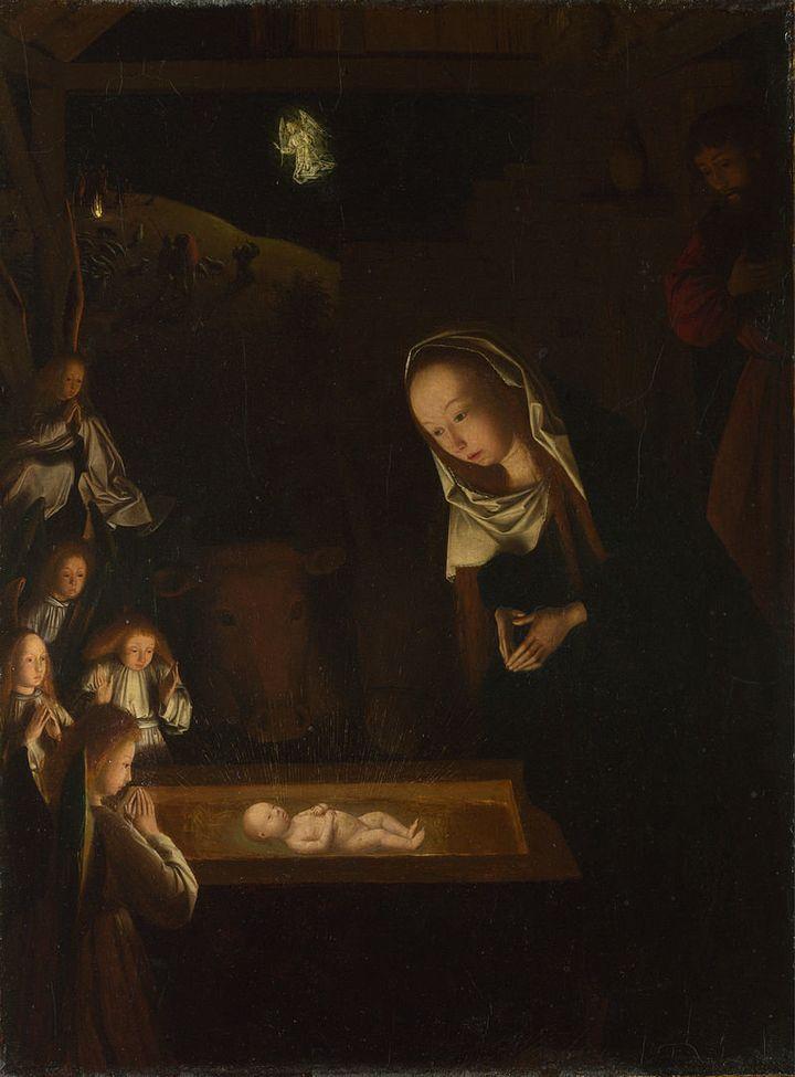 """Geertgen tot Sint Jans, """"The Nativity at Night,""""&nbsp;1490 (<a href=""""https://en.wikipedia.org/wiki/File:Geertgen_tot_Sint_Jan"""