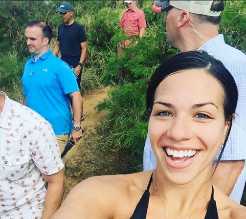 <br>Unsuspecting hikers happily stepped aside, as Obama and his security entourage barreled up the Koko Head Crater