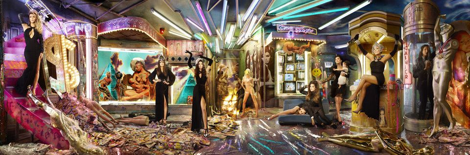 Photographed by David LaChapelle.