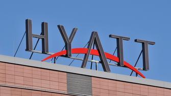 (GERMANY OUT) Berlin - Hyatt Hotel am Marlene-Dietrich-Platz am Potsdamer Platz  (Photo by Schöning/ullstein bild via Getty Images)