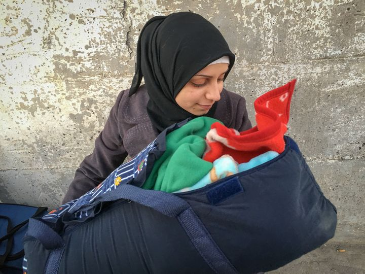 Around a million refugees and migrants have made the trip to Europe by sea in 2015. They span all ages, and include young fam