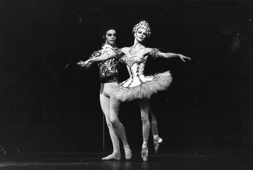 "Dancers Antoinette Sibley and Anthony Dowell of the Royal Ballet perform in ""The Nutcracker"" in 1968."