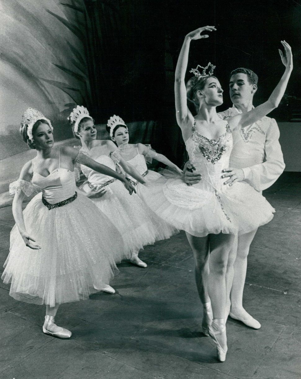 "Charlie Putman and Jiji Jahrig appear as the Snow King and Snow Queen in ""The Nutcracker Ballet"" in 1966."