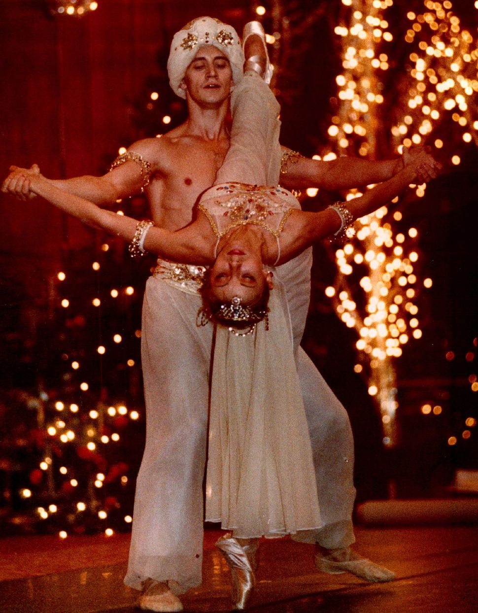 "Igor Vassin and Inessa Pakri perform at the Brown Palace in ""The Nutcracker"" in 1992."