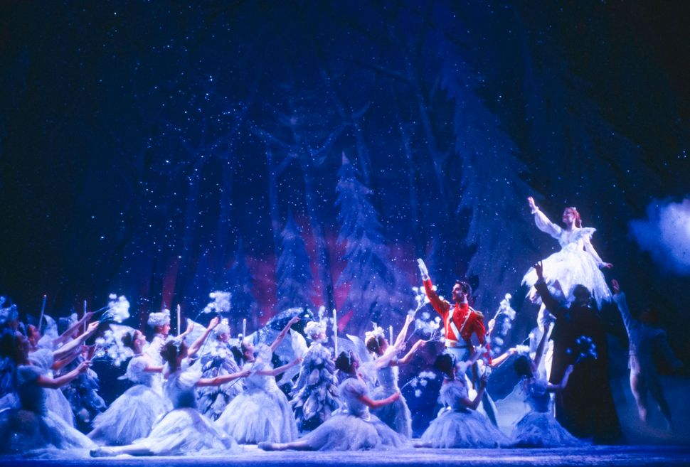 "Members of the Joffrey Ballet perform in the company's production of ""The Nutcracker"" in 1987."