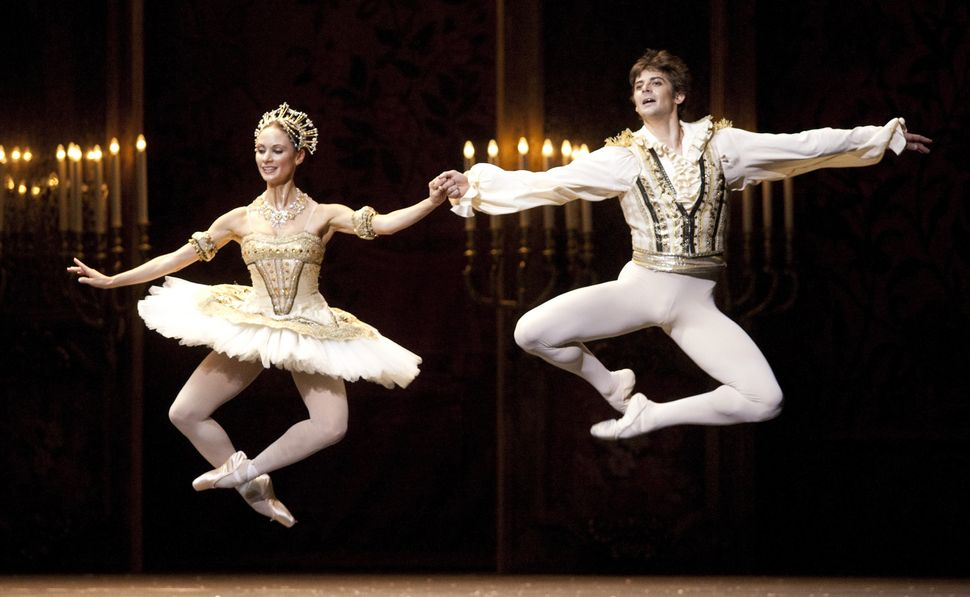 "Liudmila Konovalova and Vladimir Shishov perform during the dress rehearsal of ""The Nutcracker"" at the Wiener Staatsoper in 2"