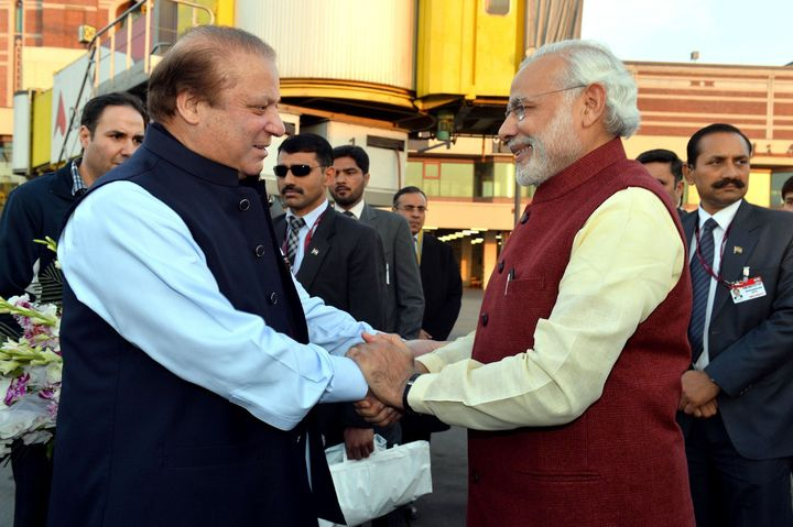 The visit was requested by Modi just hours earlier before he flew back home from Afghanistan.