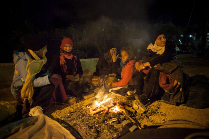 Many people, including families with children, struggle to find accommodation for the night.