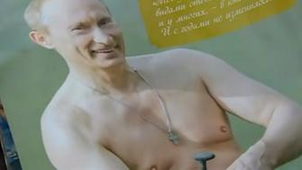 Vladimir Putin is the star of the show in this new calendar
