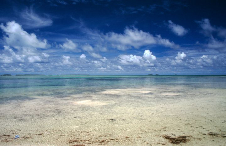 Majuro beach, Marshall Islands.