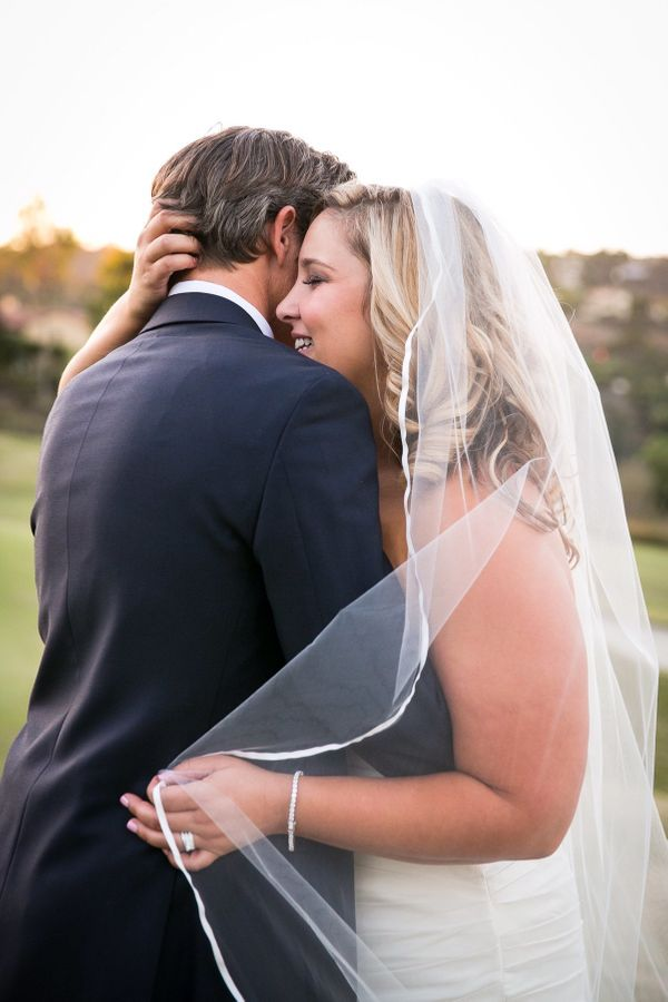 """""""Rory and Genessa tied the knot in front of friends and family in beautiful Rancho Santa Fe, California."""" -Genessa Schm"""