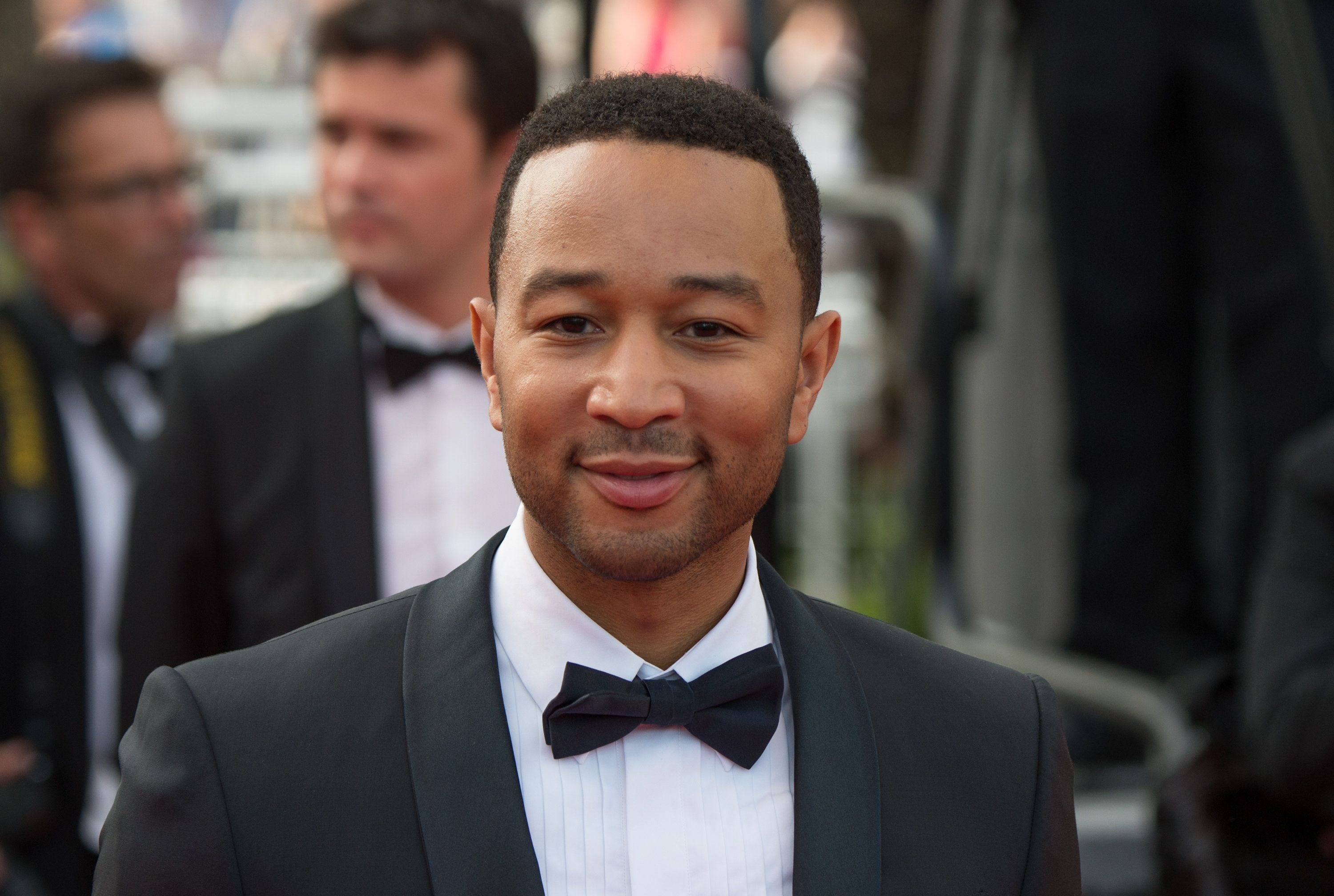 CANNES, FRANCE - MAY 13:  John Legend attends the opening ceremony and premiere of 'La Tete Haute ('Standing Tall') during the 68th annual Cannes Film Festival on May 13, 2015 in Cannes, France.  (Photo by Samir Hussein/WireImage)
