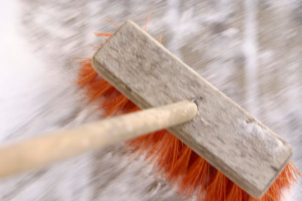 If this year brought you nothing but problems, suffering, tears, etc., grab a broom and get to sweeping.<br><br> On New Year'