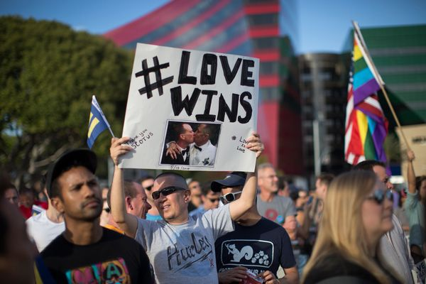The U.S. Supreme Court ruled in June that it is legal for all Americans, no matter their gender or sexual orientation, to mar
