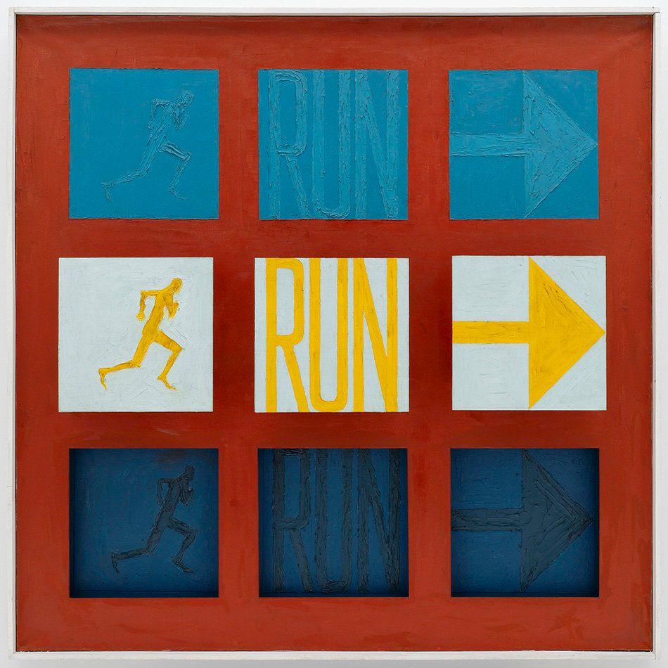 Sol LeWitt, <em>Run I</em>, 1962.