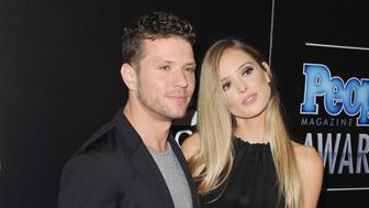 BEVERLY HILLS, CA - DECEMBER 18:  Actor Ryan Phillippe and Paulina Slagter arrive at The PEOPLE Magazine Awards at The Beverly Hilton Hotel on December 18, 2014 in Beverly Hills, California.  (Photo by Jon Kopaloff/FilmMagic)