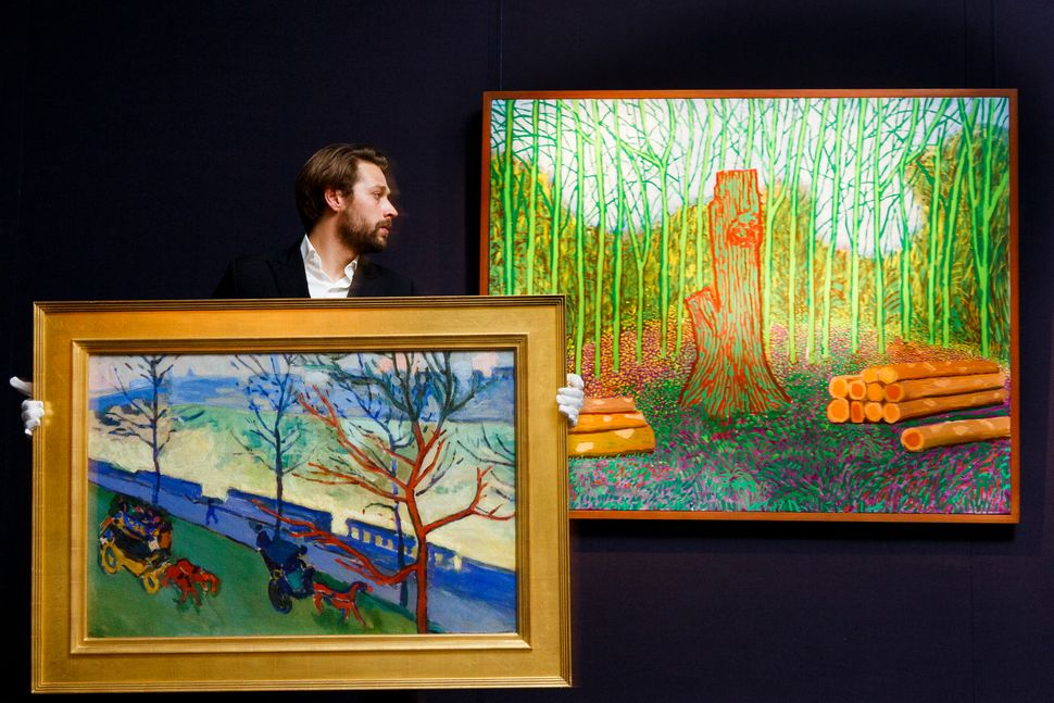 17 Of The Most Expensive Artworks Sold At Auction This Year Huffpost