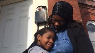 Qiana Williams nearly spent Christmas in a homeless shelter.