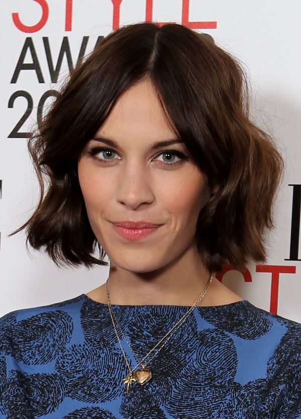 Alexa Chung attends the ElleStyle Awards 2011 at Grand Connaught Rooms in London, England.