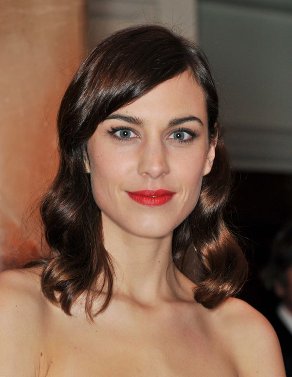 Alexa Chung attends the British Fashion Awards 2013 at London Coliseum in London, England.