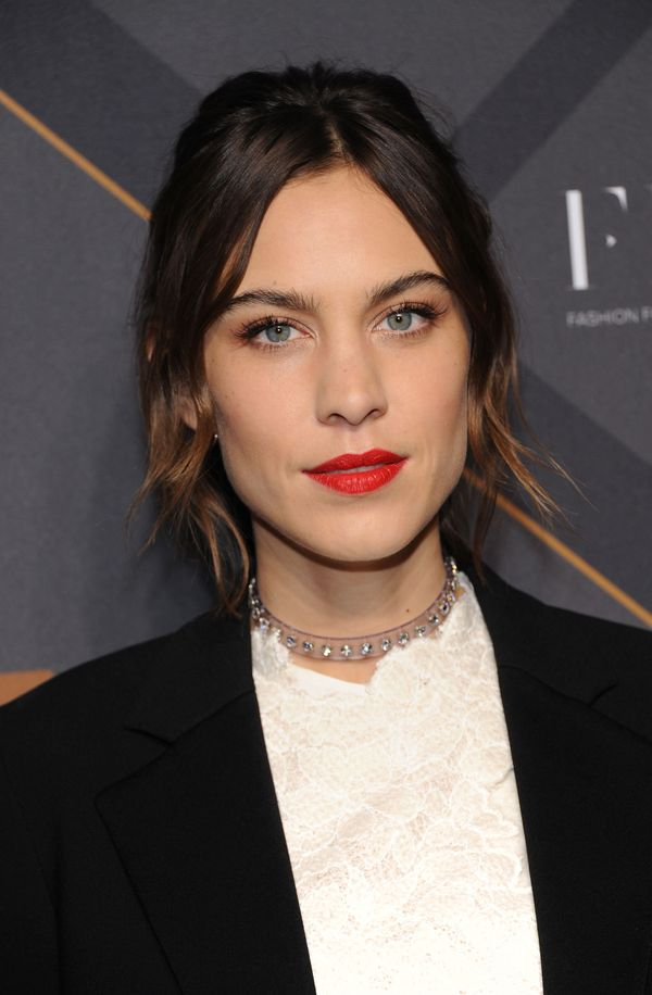 Alexa Chung attends the 29th FN Achievement Awards at IAC Headquarters in New York City.