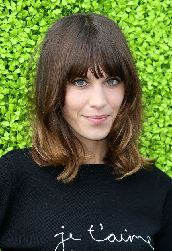 Alexa Chung hosts the launch of the Annual British Designers Collective at Bicester Village in Bicester, England.