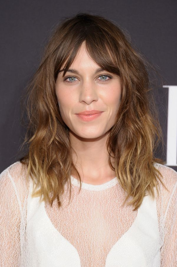 Alexa Chung arrives at the Elle Fashion | Next Runway Show during the Spring 2013 Mercedes-Benz Fashion Week in New York City
