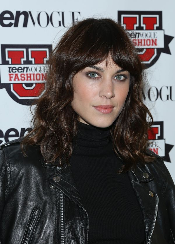 Alexa Chung attends the 8th Annual Teen Vogue University in New York City.