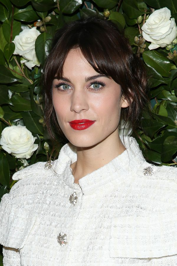Alexa Chung attends the Museum of Modern Art 2013 Film benefit: A Tribute To Tilda Swinton in New York City.