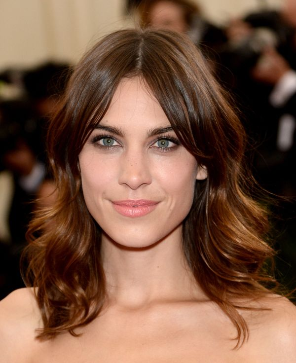 """Alexa Chung attends the """"Charles James: Beyond Fashion"""" Costume Institute Gala at the Metropolitan Museum of Art in New York"""