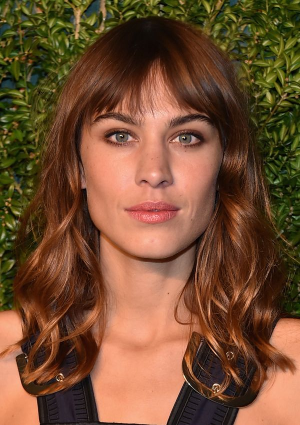 Alexa Chung attends the 11th annual CFDA/Vogue Fashion Fund Awards at Spring Studios in New York City.