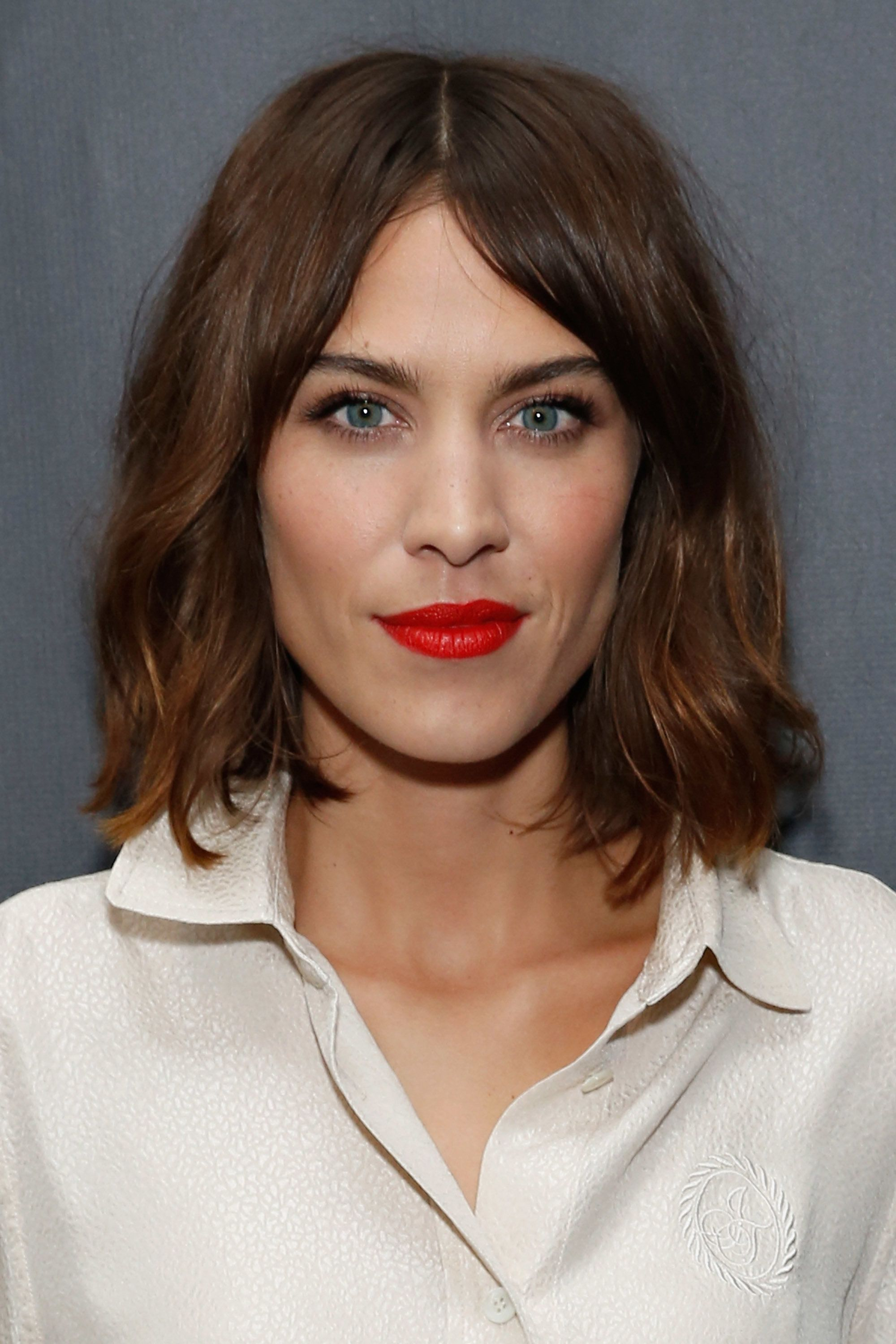 Alexa Chung for AG New York Launch Party in New York City.