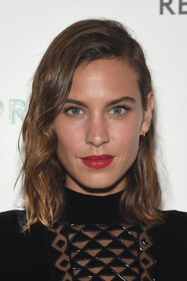Alexa Chung attends the Refinery29 presentation of 29Rooms, a celebration of style and culture during NYFW 2015 in Brooklyn,