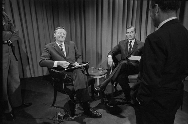 ABC News desperately needed to juice ratings during coverage of the 1968 Nixon-Humphrey presidential election. Enter conserva