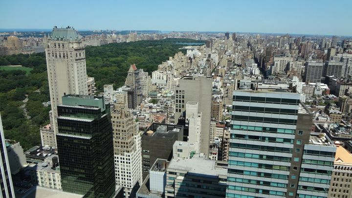 A 20-year-old man fell to his death Wednesday while climbing New York City's Four Seasons Hotel, the view from its 45th floor