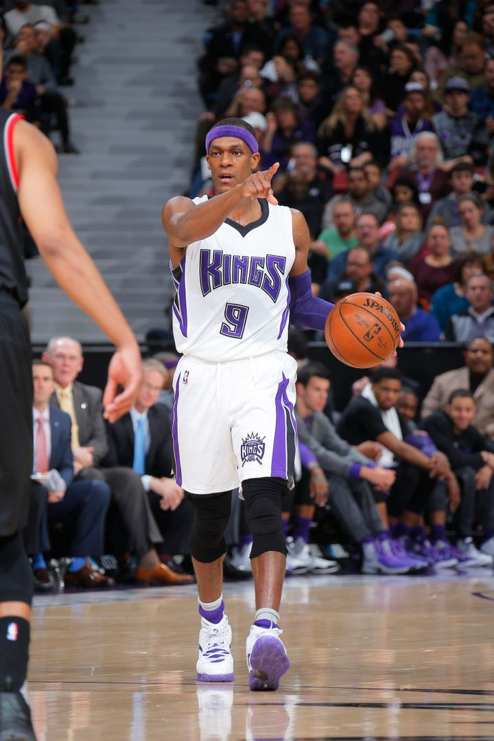 Rajon Rondo's guidance -- he leads the league in assists -- has helped theKings secure recentwins over the Thunde