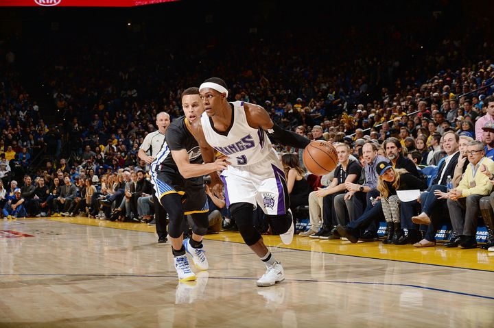 Rondo has given defenders fits all season, including Golden State's Stephen Curry.