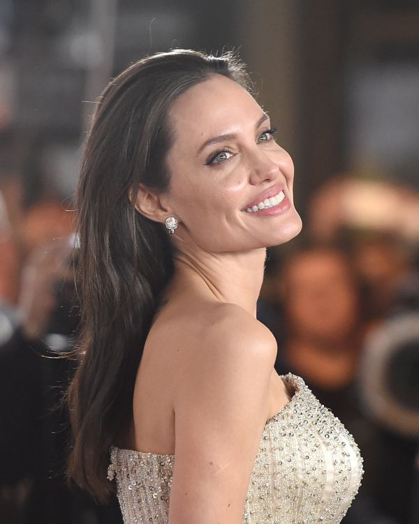 HOLLYWOOD, CA - NOVEMBER 05:  Writer-director-producer-actress Angelina Jolie Pitt attends the opening night gala premiere of