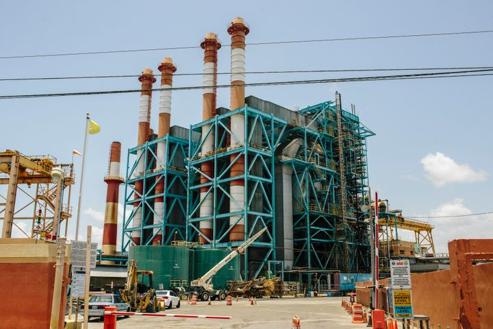 The Puerto Rico Electric Power Authority's Palo Seco power plant stands in San Juan, Puerto Rico. The government is fighting